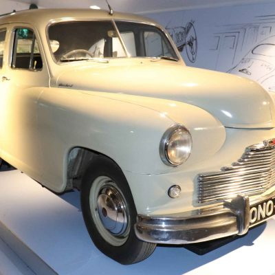 1948 Standard Vanguard at the Coventry Motor Museum, Great Britain