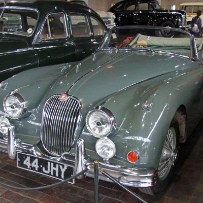 1960 Jaguar at the Beaulieu National Motor Museum, France