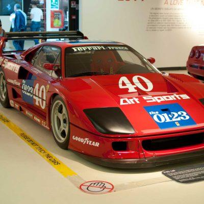 Ferrari F40 LM at Ferrari Museum, Maranello, Italy