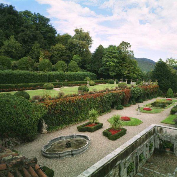 Terrace, Italy, Garden tours
