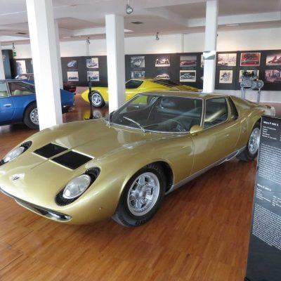 Lamborghini sports cars Museum, Bologna, Italy