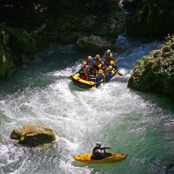 Rafting and kayaking, Cascata delle Marmore, Italy