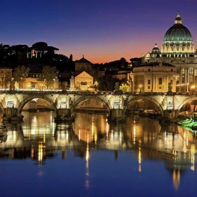 Florence at dusk, Tuscany, Italy