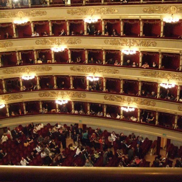 Teatro Alla Scala, interior, Milan, Italy