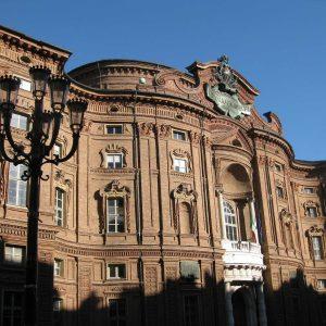Palazzo Carignano, Turin, Piedmont, Italy