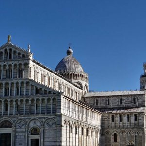 Pisa, the leaning tower, Tuscany, Italy