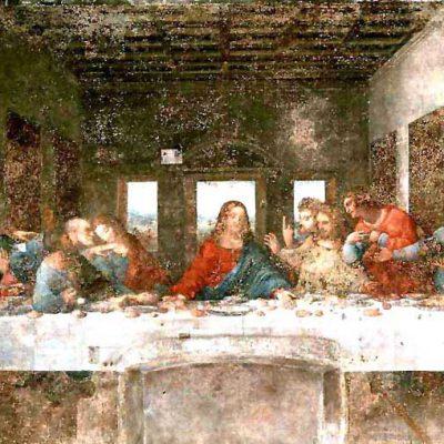 Leonardo da Vinci, The last supper, Milan, Italy
