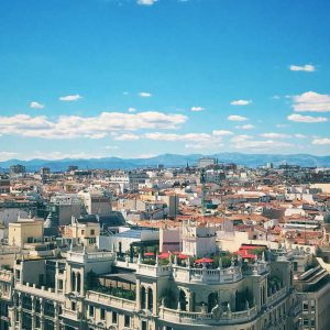 View of Madrid, Spain tours